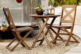 Patio Furniture Ikea by 5 Small Patio Dining Sets For The City Dweller