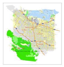 map of cities in california mountain view california
