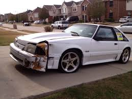 1990 mustang gt cobra whiteboy s mustangs 1990 mustang gt white parts car