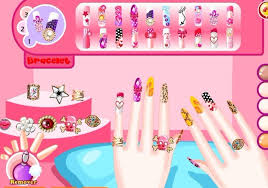 nail salon games nail arts