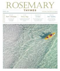 Rosemary Beach Map Rosemary Thymes Spring 2016 By Rosemary Thymes Issuu