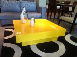 Yellow Side Table Uk Yellow Coffee Table Intended For Your House Distressed Glass Side