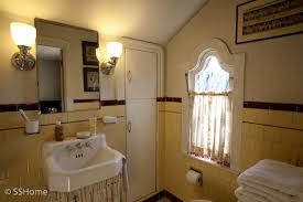 1930 bathroom design yellow bathroom 1930 s style home of designer shiree