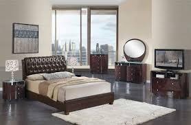 Emily Bedroom Furniture Sale 1738 00 Emily Modern Bedroom Set In Brown Wenge Bed 2