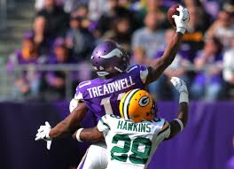 Blind Side Block Penalty Laquon Treadwell U0027s One Handed Grab Shows Promise For Vikings