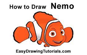 draw nemo finding nemo