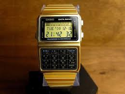 Jam Tangan Casio Gold wts jam tangan casio databank kalkulator gold silver kaskus