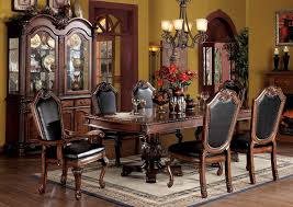 Cherry Dining Room Tables Amazon Com Acme 04075b Set Chateau De Ville 7 Piece Formal