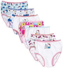 amazon handcraft girls u0027 kitty underwear pack