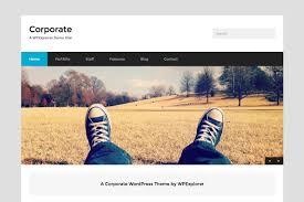 corporate minimal wordpress theme wordpress themes creative market