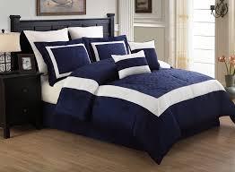 Navy Blue Bedding Set Navy Blue And White Bedding Total Fab Navy Blue And White