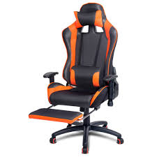 Ultimate Computer Chair Gaming Chair For Games Racing Office Computer Pu Leather Reclining