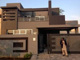 home front view design pictures in pakistan 10 marla brand new house with park view for sale lushgreen garden