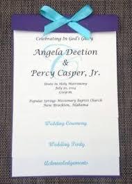 Sample Of A Wedding Program Custom Sample Purple Ivory Layered Wedding Program Ebay