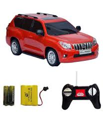 red land cruiser fantasy india rechargeable remote controlled toyota land cruiser