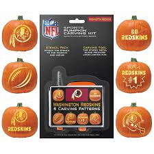 free halloween activities in kansas city washington redskins halloween pumpkin carving kit new stencils for