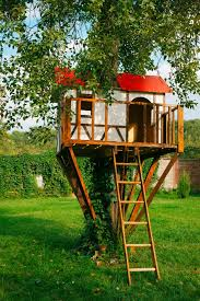 Backyard Kid Activities by 25 Awesome Kids Tree Houses Red Roof Tree Houses And Backyard