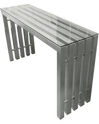 stainless steel console table new savings on city stainless steel console table