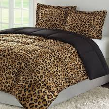Leopard Bed Set Unique Color Pattern Leopard Print Bedding All Modern Home Designs