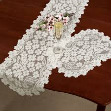 Mexican Table Runner Dogwood Lace Table Runners