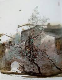chinese painting chinese landscape asian art drawing art watercolour painting traditional chinese provence composition watercolors