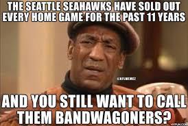 Seahawks Fan Meme - seattle seahawks fans are not bandwagoners credit john smith