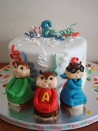 alvin and the chipmunks cake toppers alvin and the chipmunks cake birthday cake cake design and cookies