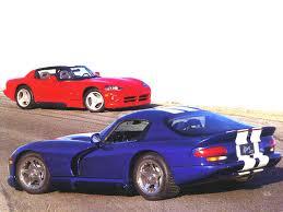 Dodge Viper 1996 - 1996 dodge viper gts blue amp 1996 viper rt 10 red fotos de carros