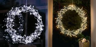 this add cheer to your house with led decorative wreath