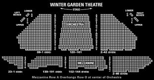 Winter Garden Seating Chart - broadway tickets tickets for broadway theater tickets theatre