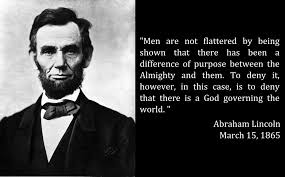 abraham lincoln on god s existence and blessing family council