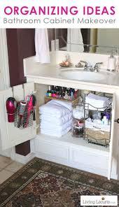 Under Bathroom Sink Organizer by Cabinet Under The Sink Organizer Bathroom Bathroom Organization