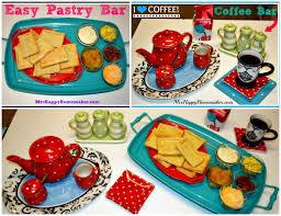 easy pastry u0026 coffee breakfast buffet bar u2013 mrs happy homemaker