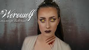 Halloween Werewolf Makeup Werewolf Halloween Makeup Tutorial Shona Forsey Youtube