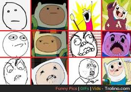 Meme Faces Pictures - finn meme faces trolino