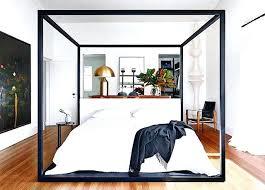 Modern Canopy Bed Frame Modern Canopy Bed Frame Smartwedding Co