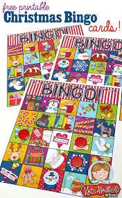 free printable christmas bingo cards kate hadfield designs
