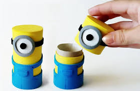 how to make little minions boxes 8 steps with images