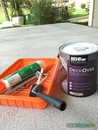 painted concrete patio makeover patio makeover paint concrete
