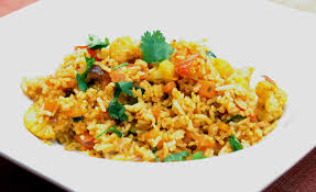 cuisiner riz recette indienne vidéo fried rice riz frit de cuisine