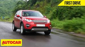 land rover india land rover discovery sport si4 hse first drive autocar india