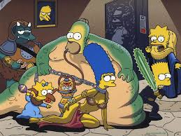 Marge Simpson Halloween Costume Wallpapers Simpsons Halloween Widescreen Wallpapers Bizarre