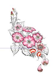 lower back rose tattoo designs discover appealing rose tattoo