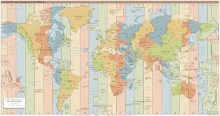 us map divided by time zones time zone