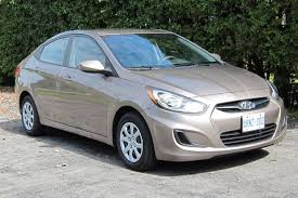 hyundai accent 2012 sedan test drive 2012 hyundai accent gl sedan autos ca