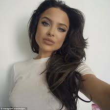 commercial actress with mole on face mara teigen who appeared in kylie jenner s lip gloss commercial