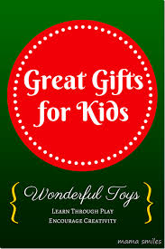 great gifts great gift ideas for kids encourage learning and creativity