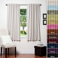 decorating diy light blocking curtains in black for home