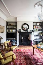 before u0026 after an eclectic edwardian living room design seeker