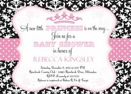 princess baby shower invitation templates free 28 images